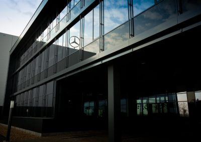 Mercedes office building, Kecskemét