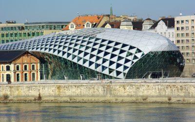 Budapest Donauufer CET-Gebäude