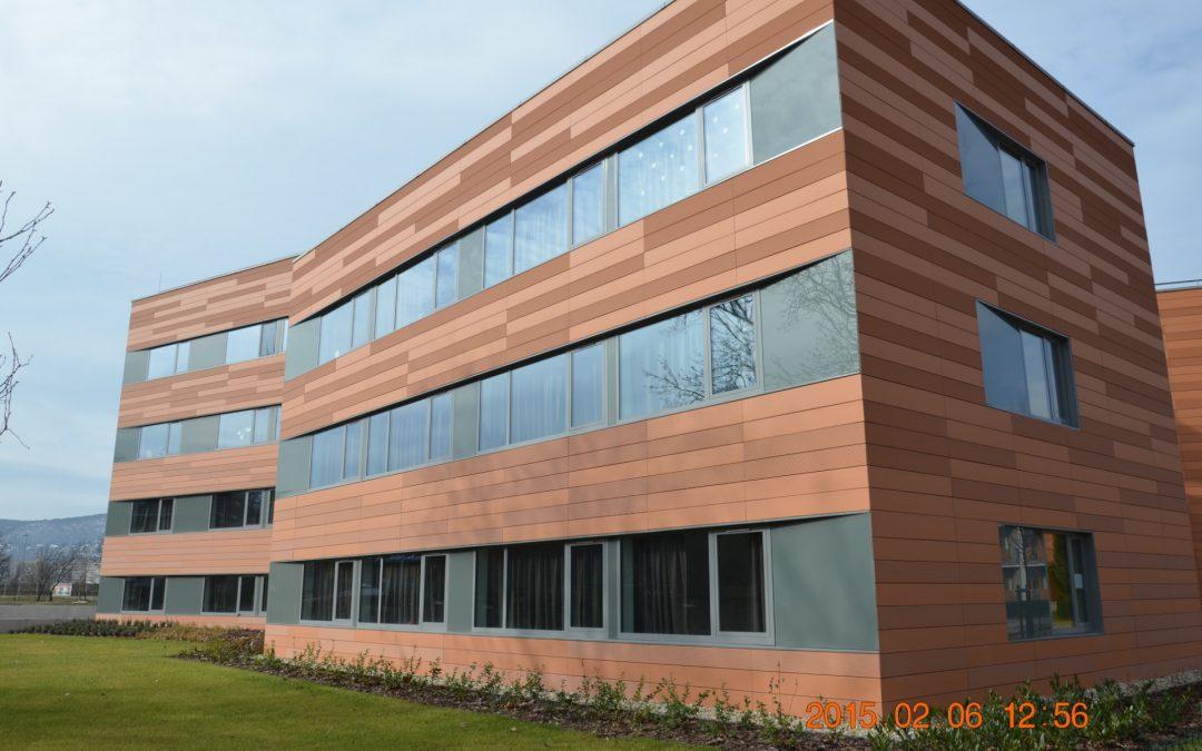 Graphisoft park, student hostel building