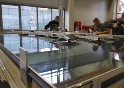 Production in Schal-Tech's plant in Aszód